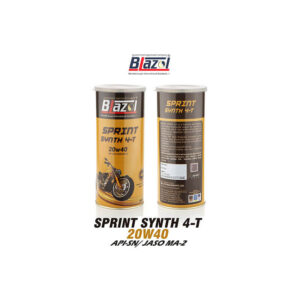 BLAZOL SPRINT SYNTH 4-T 20W40 ( API-SN)