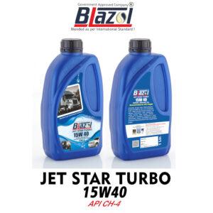 BLAZOL Jet Star Turbo 15W40 (CH-4)
