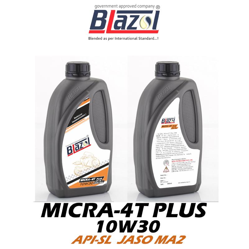 BLAZOL MICRA 4-T PLUS 10W30 (API-SL)