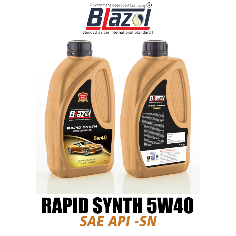 BLAZOL RAPID SYNTH 5W40 (API-SN)