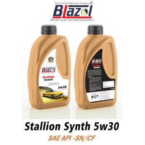 BLAZOL STALLION SYNTH 5W30 (API-SN CF)