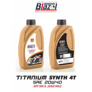 BLAZOL TITANIUM SYNTH 4T (API-SM)