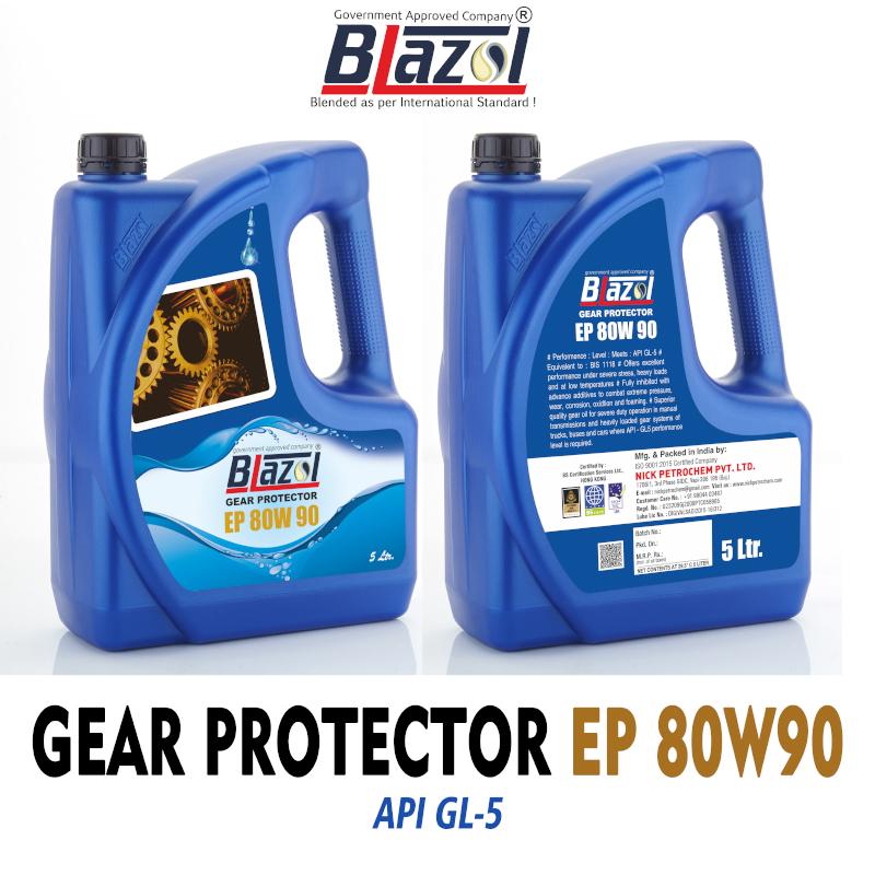 BLAZOL Gear Protector EP- 80W90 (GL-5)-5ltr