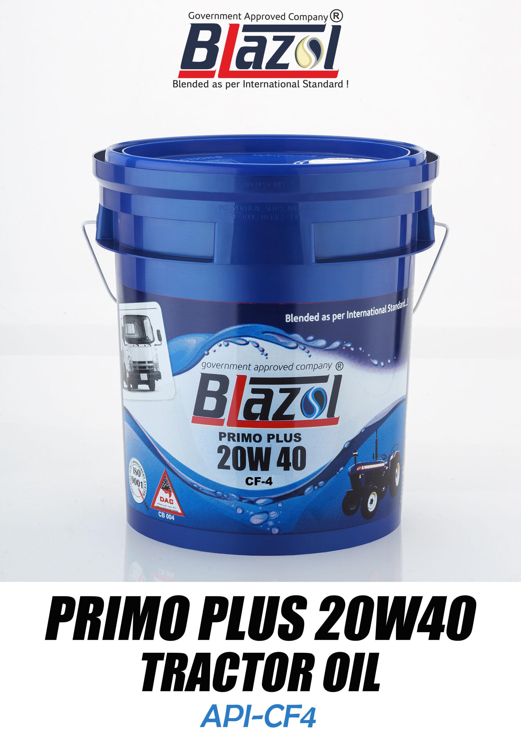 7.5 ltr PRIMO PLUS 20W40 tractor oil